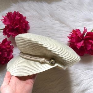 Accessories - Straw Captains Hat